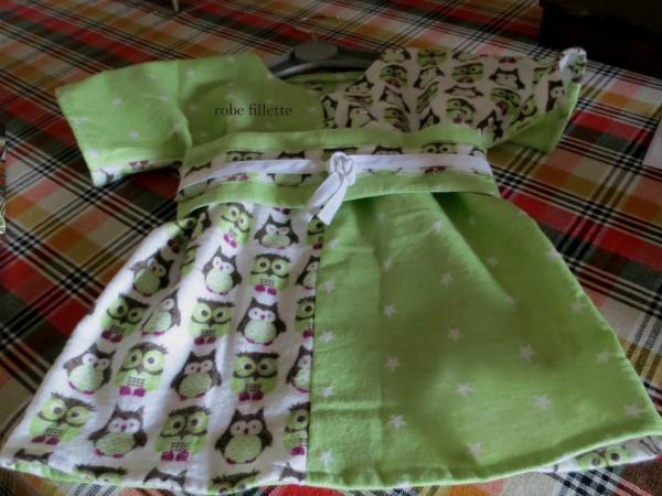 robe... chouettes et étoiles